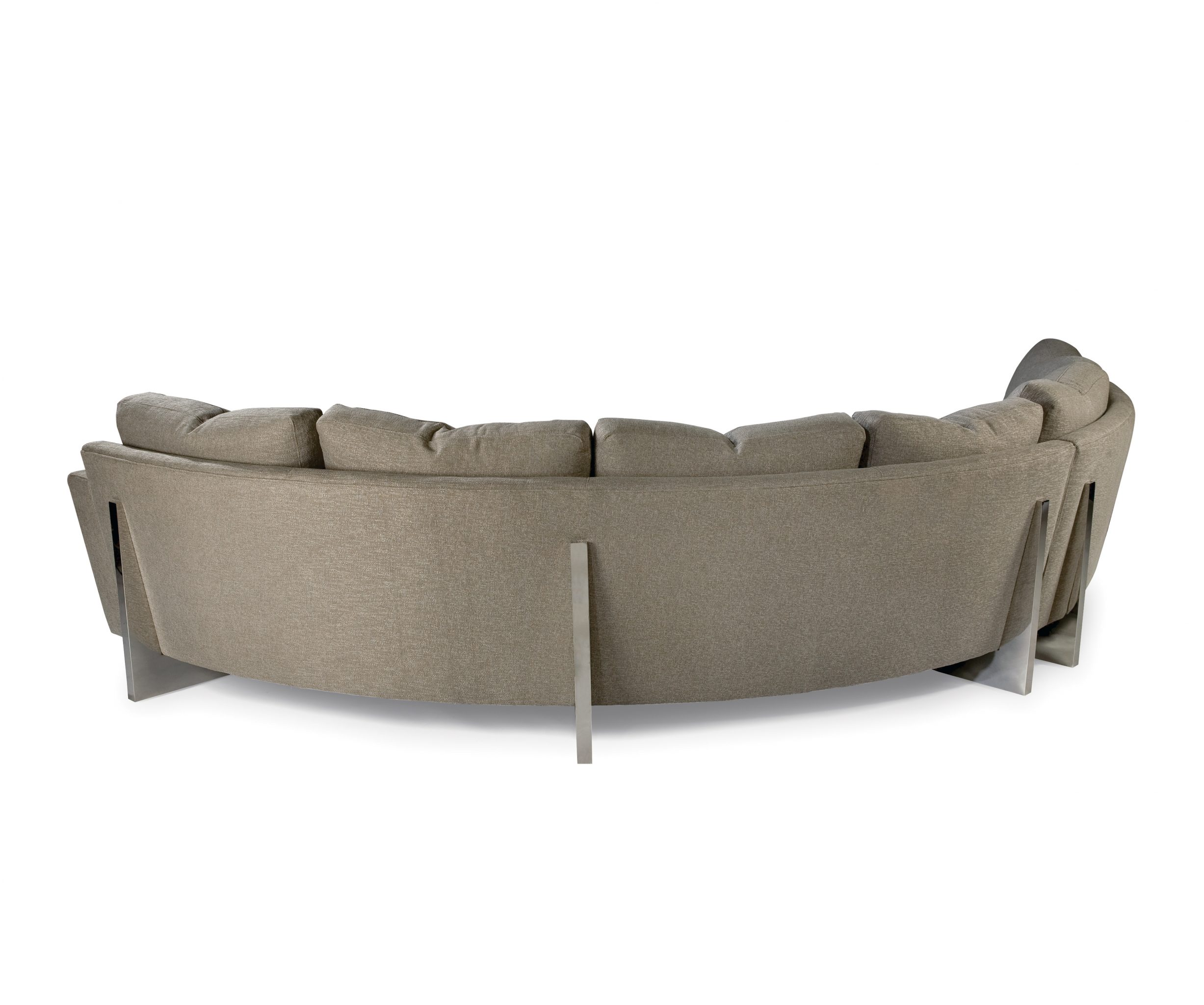 Cool Clip Curved Sectional - back view