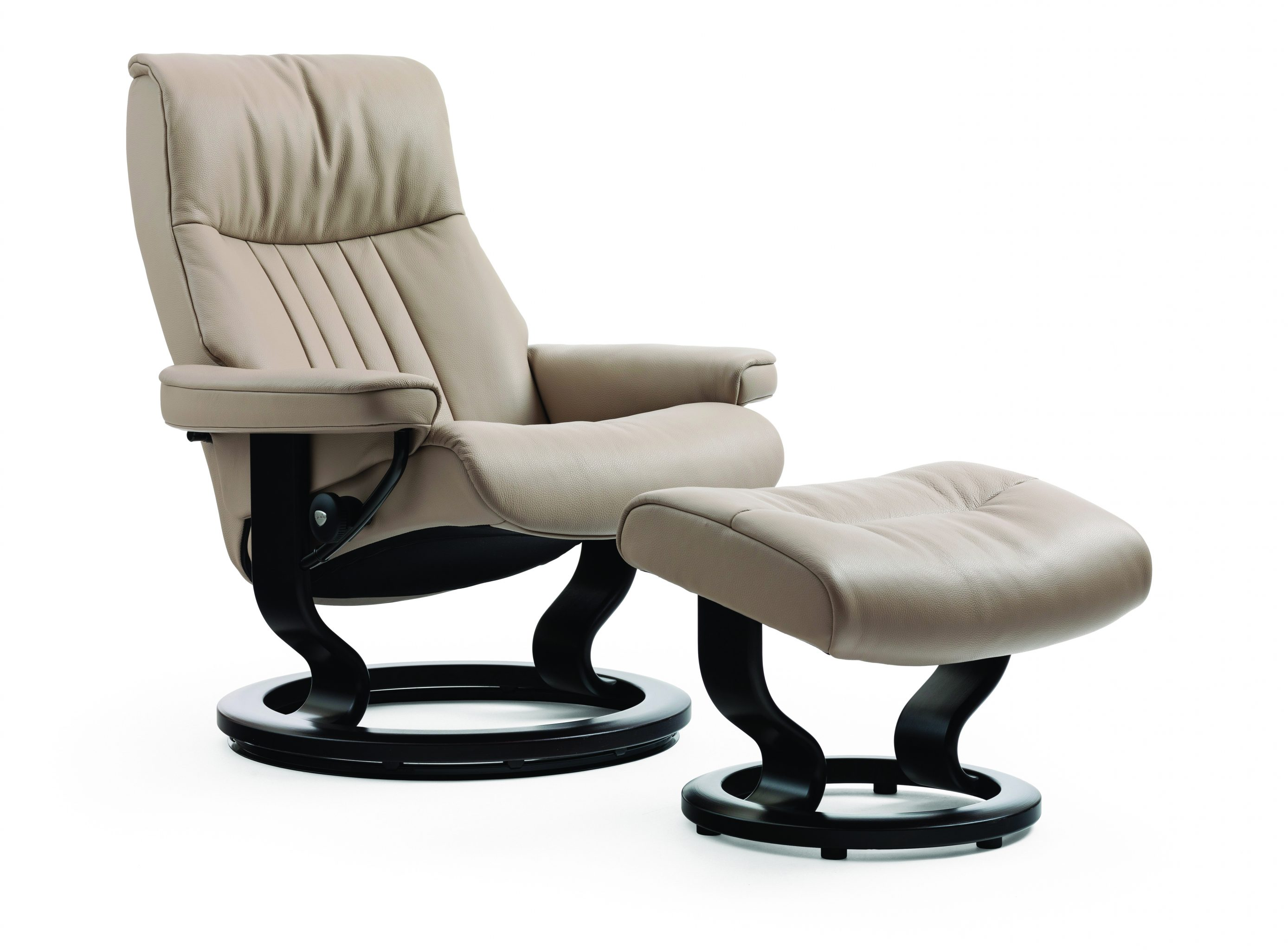 Stressless Crown Chair & Ottoman LaDiff