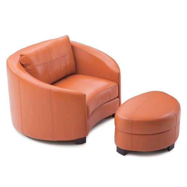 Cuddle Chair & Ottoman