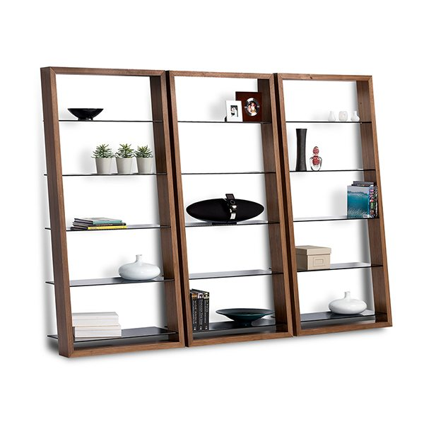 Eileen Leaning Bookcase