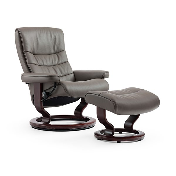 Stressless® Nordic Chair & Ottoman