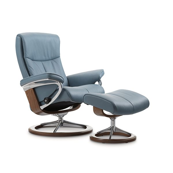 Stressless® Peace Chair & Ottoman