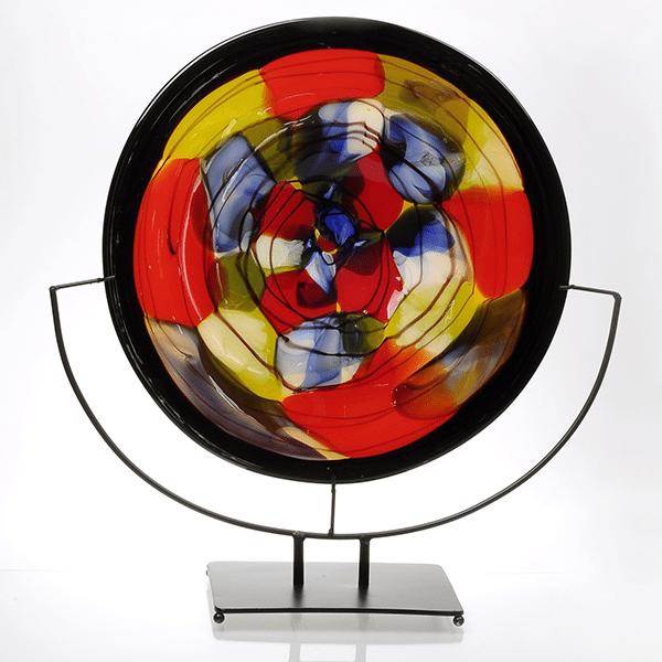Glass Plate Sculpture