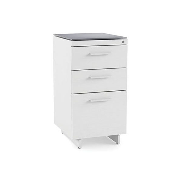 Centro 3 Drawer File Pedestal