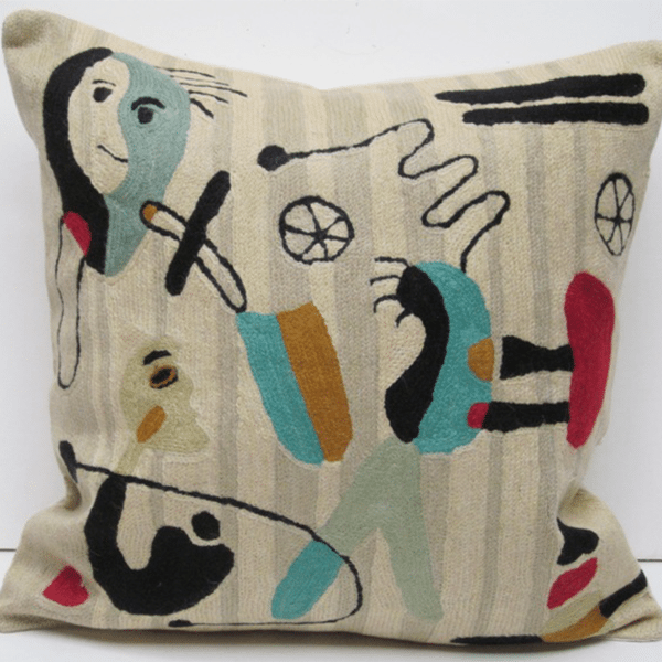 Chain Stitch Pillows