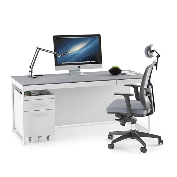 Centro Desk with Keyboard Drawer