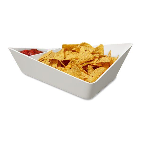 Forminimal Chip and Dip Bowl