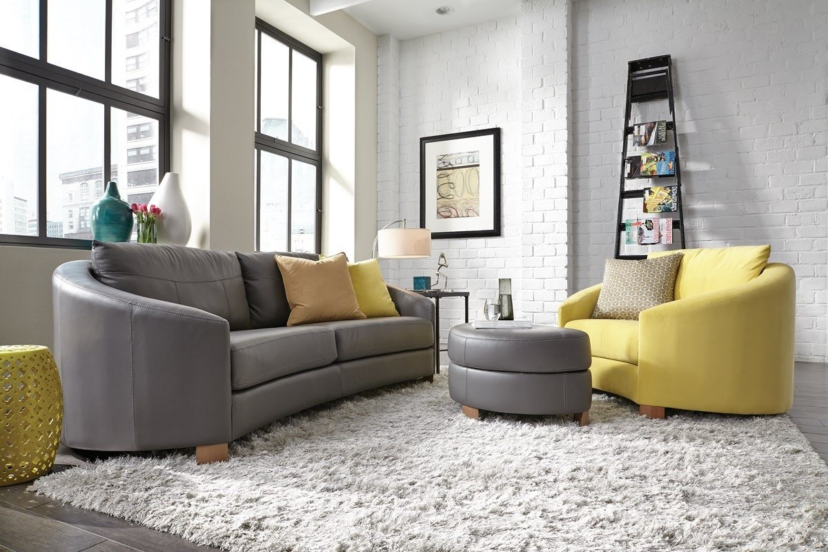Cuddle Grey Yellow Room