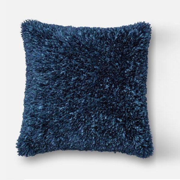 Ribbon Shag Pillow
