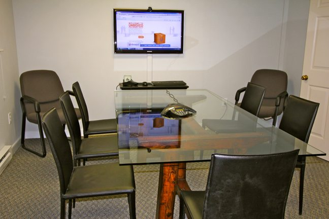 view-of-conference-table