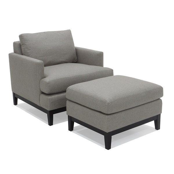 Rhodes Chair & Ottoman