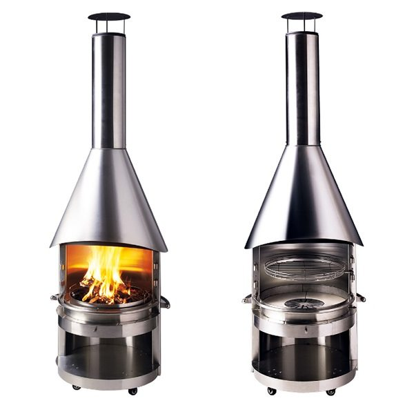 Mercatus BBQ Fireplace