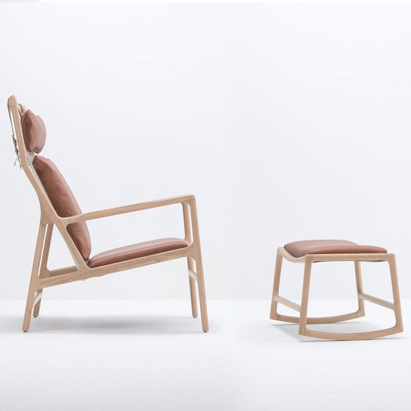 Dedo Lounge Chair & Ottoman