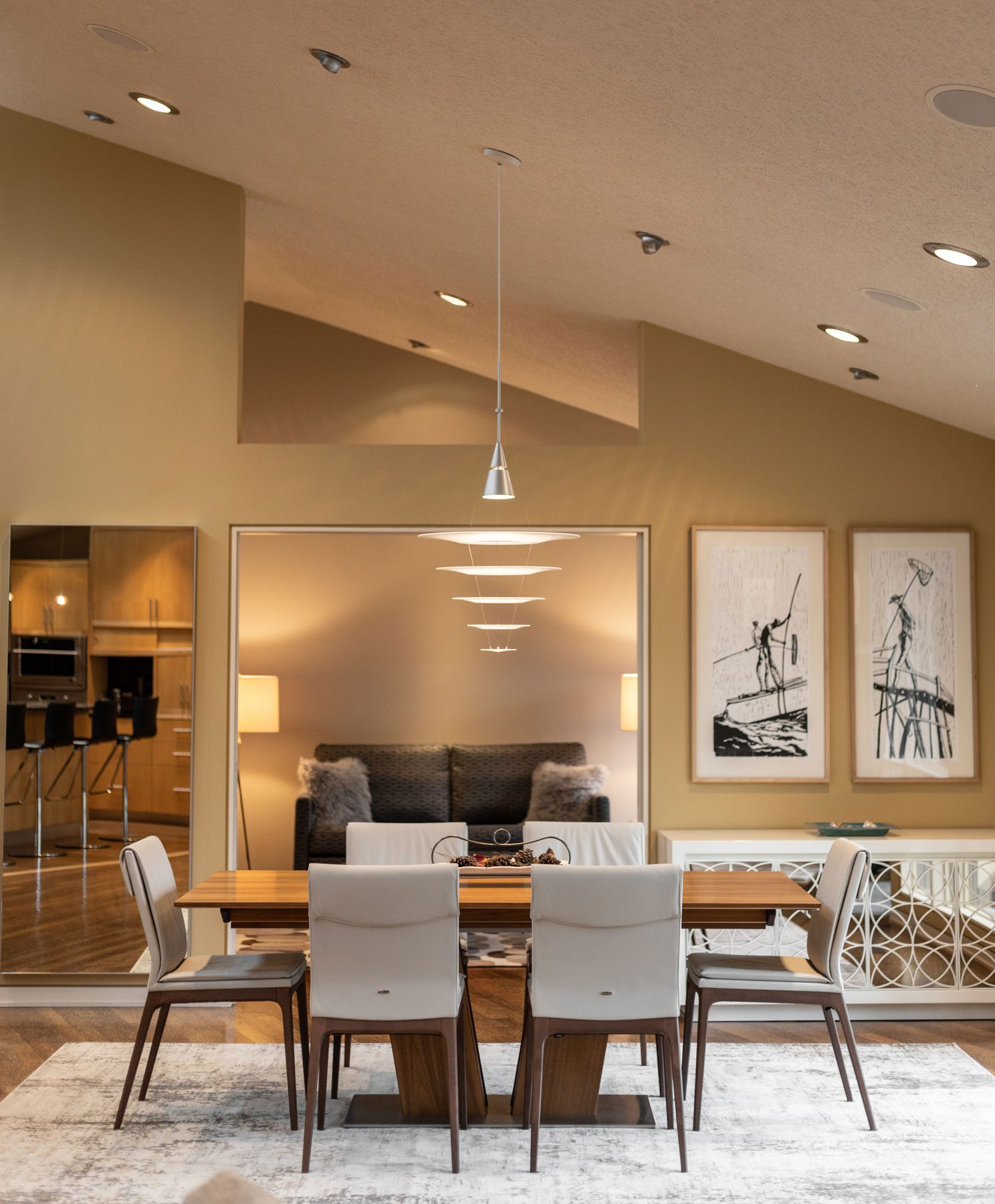 Richmond Riverside Drive Home Dining Room