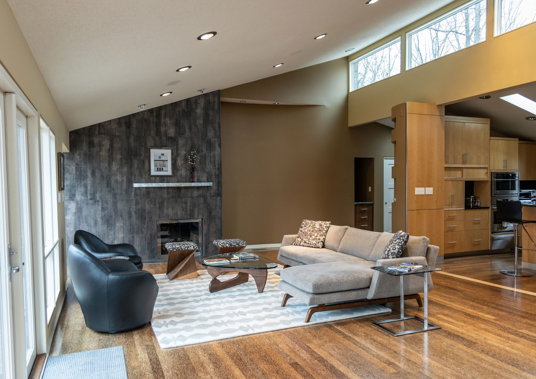 Richmond Riverside Drive Home Living Room