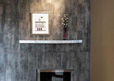 Richmond Riverside Drive Home Fireplace