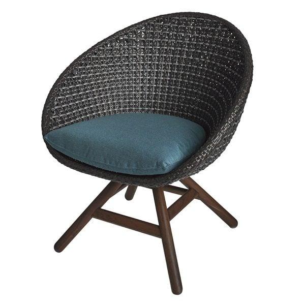 Nest Swivel Chair & Ottoman