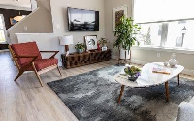 Sharon's Modern Libbie Mill Row House