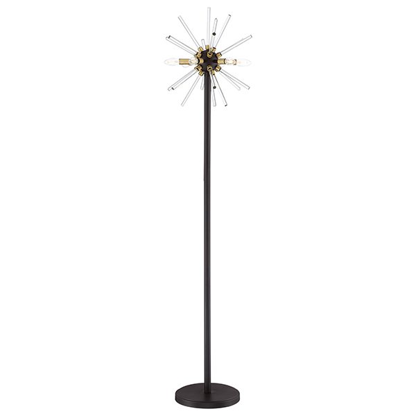 Spiked 6-light Floor Lamp