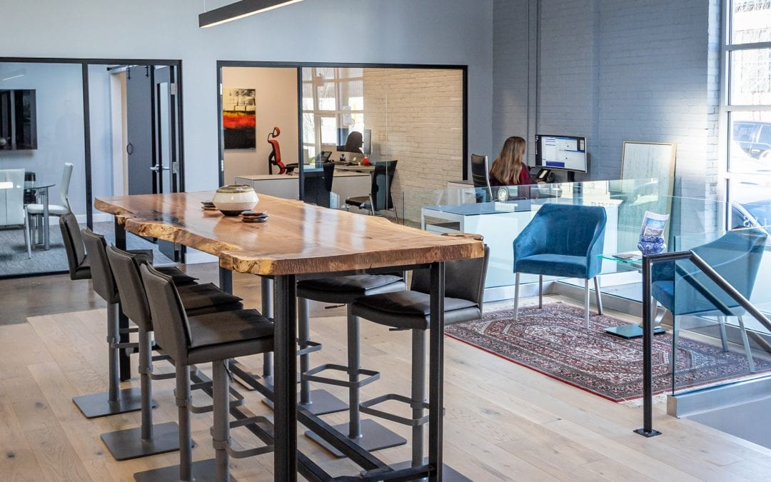 River Hills Wealth Management | Airy Modern Office