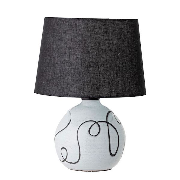Script Terracotta Lamp
