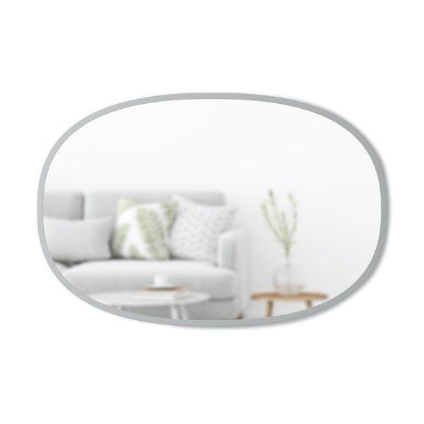 Hub Lg Oval Mirror