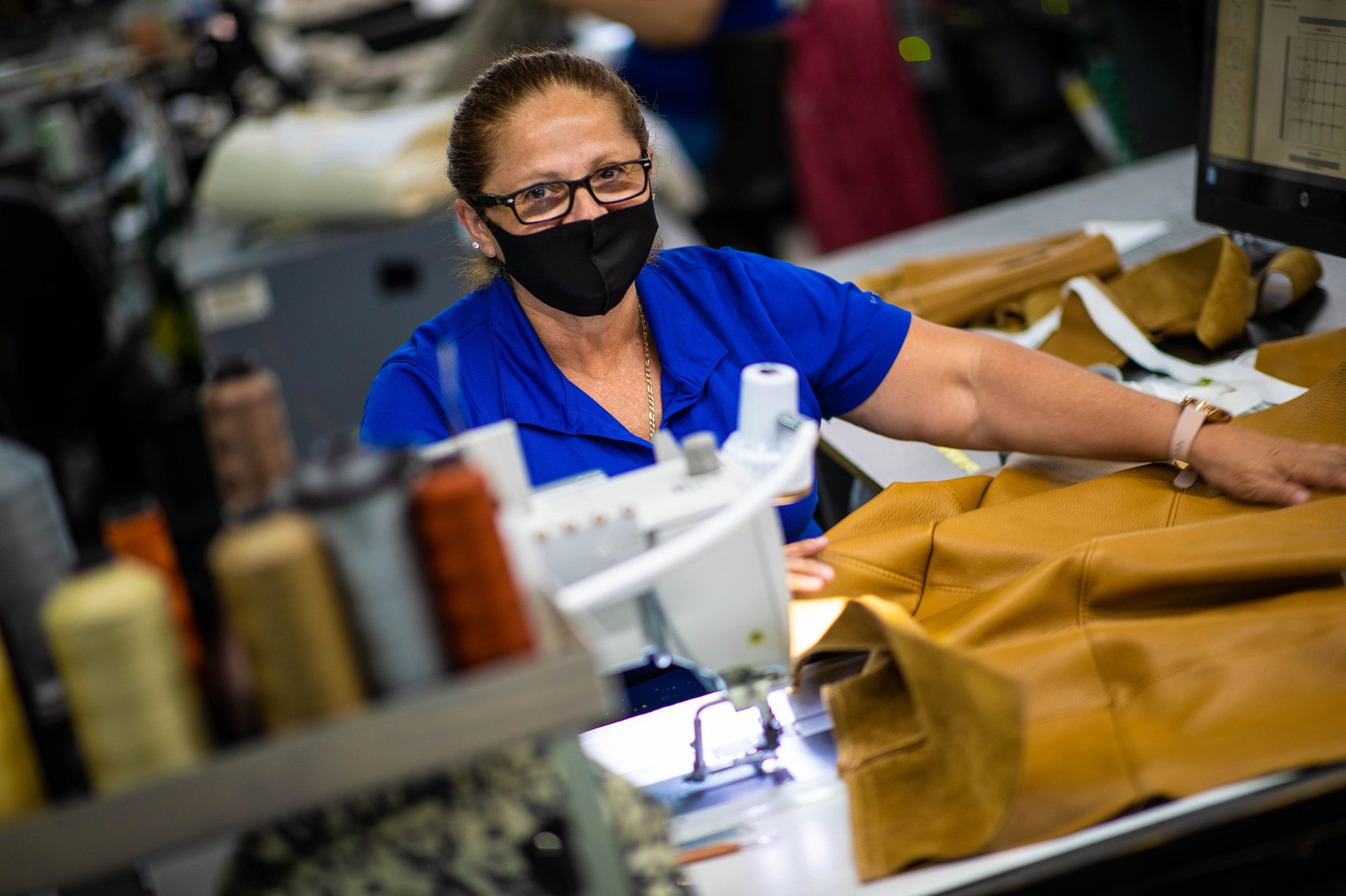 AmericanLeather factory worker