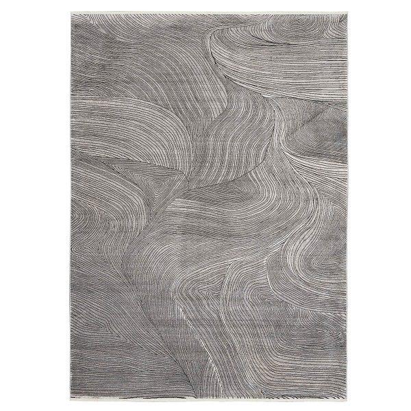 Balian Grey Swirl Rug