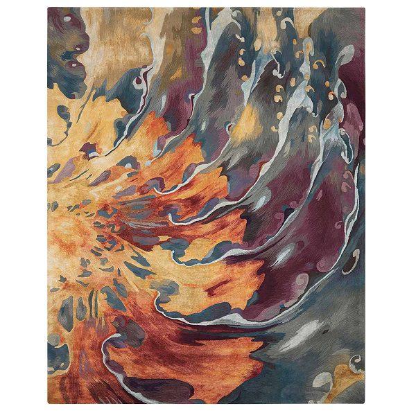 Prismatic Multicolor Rug